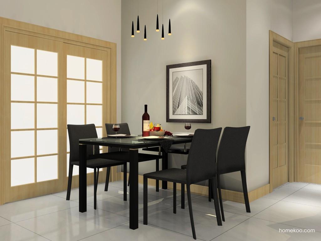 米兰剪影餐厅家具E11270
