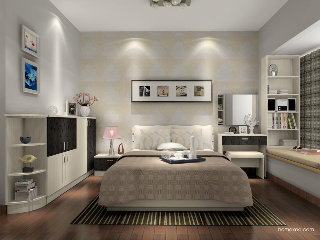 米兰剪影卧房家具A15362