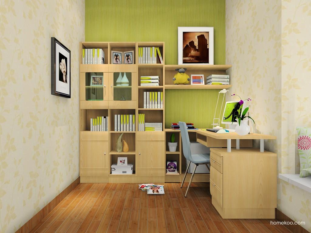 北美枫情书房家具C15229