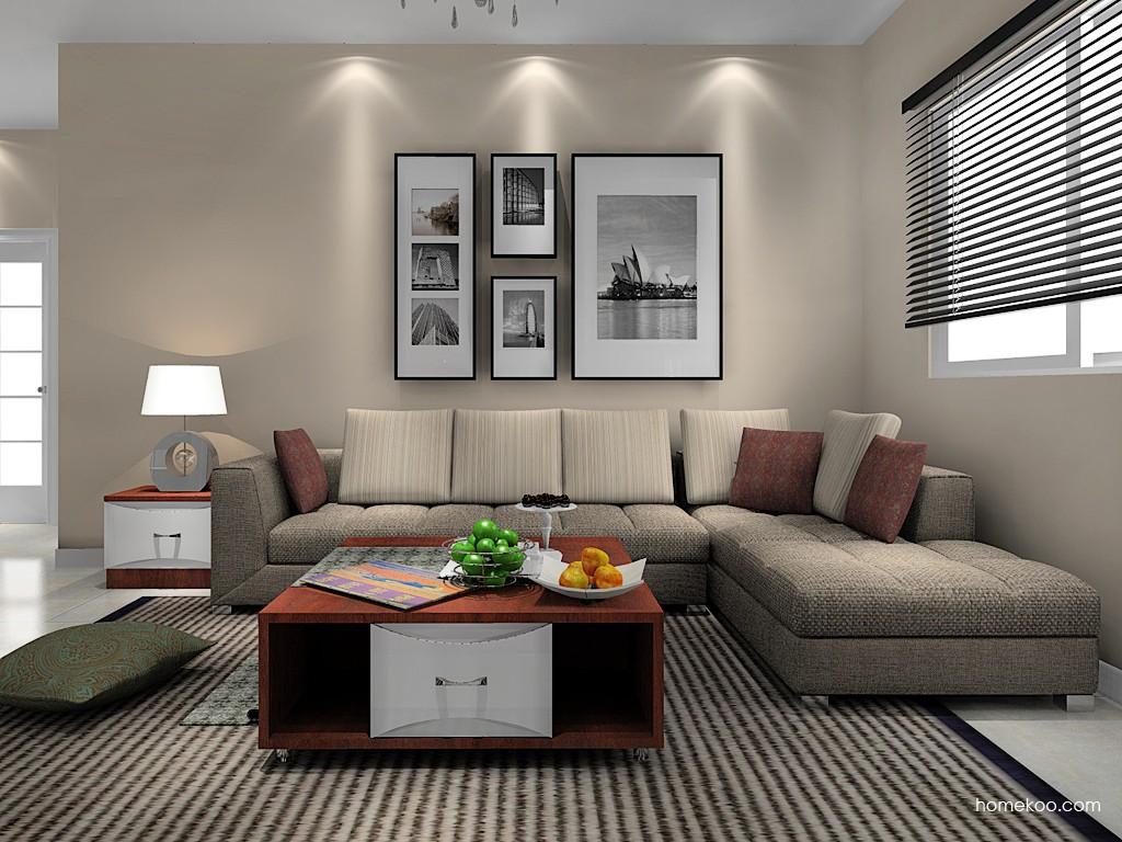 挪威月色客厅家具D14305