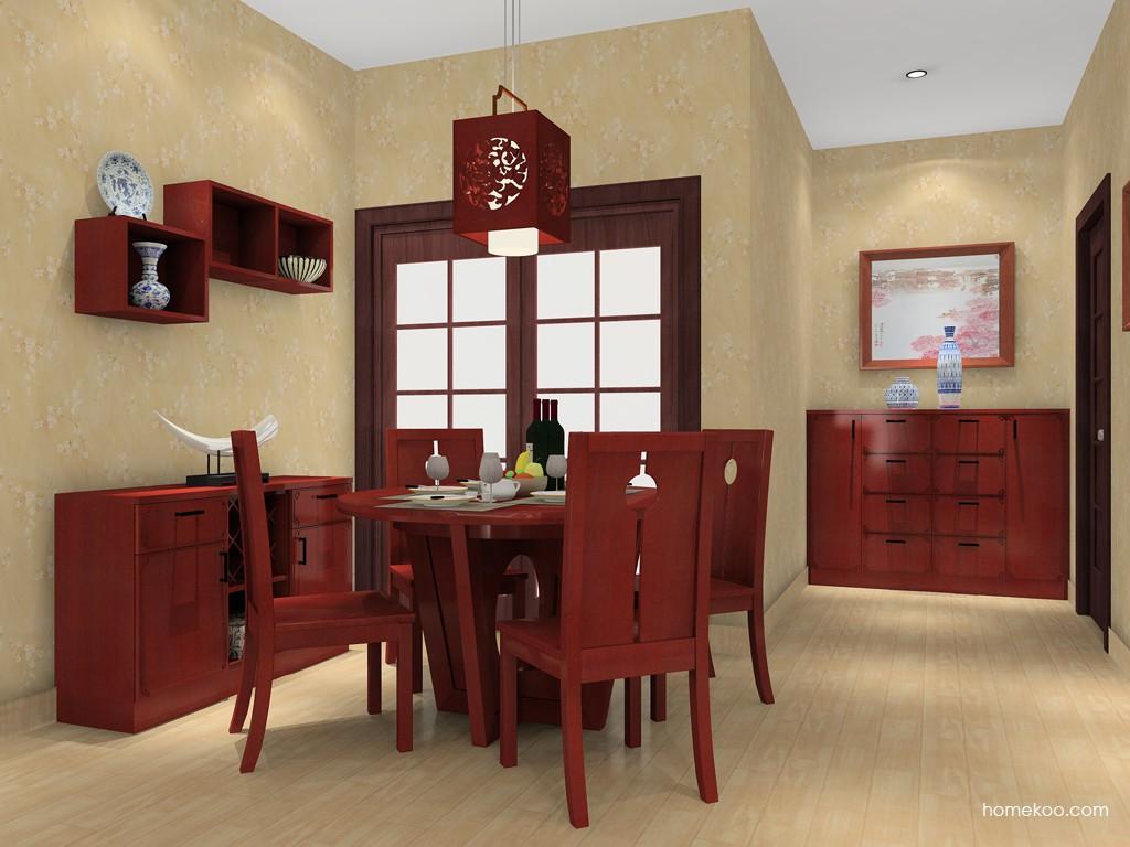 中国韵餐厅家具E11280