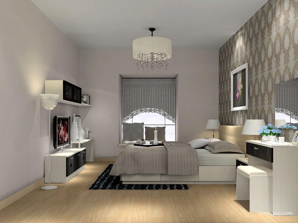 米兰剪影卧房家具A15381