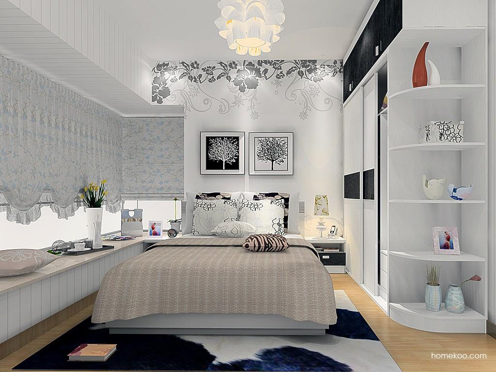 简约主义卧房家具A15384