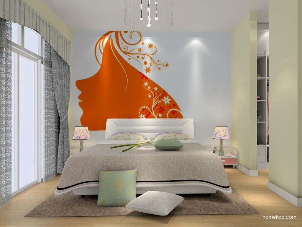浪漫主义卧房家具A15385