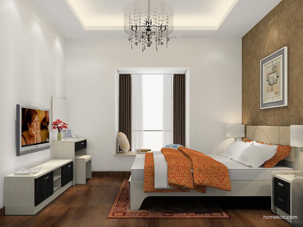米兰剪影卧房家具A15414