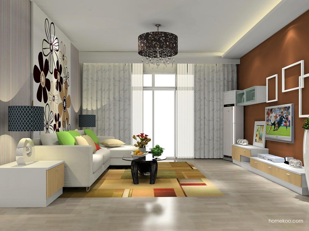 新实用主义客厅家具D14313