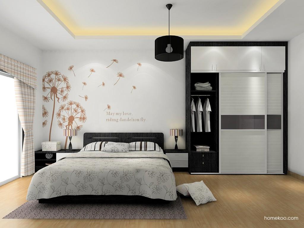 简约主义卧房家具A15396