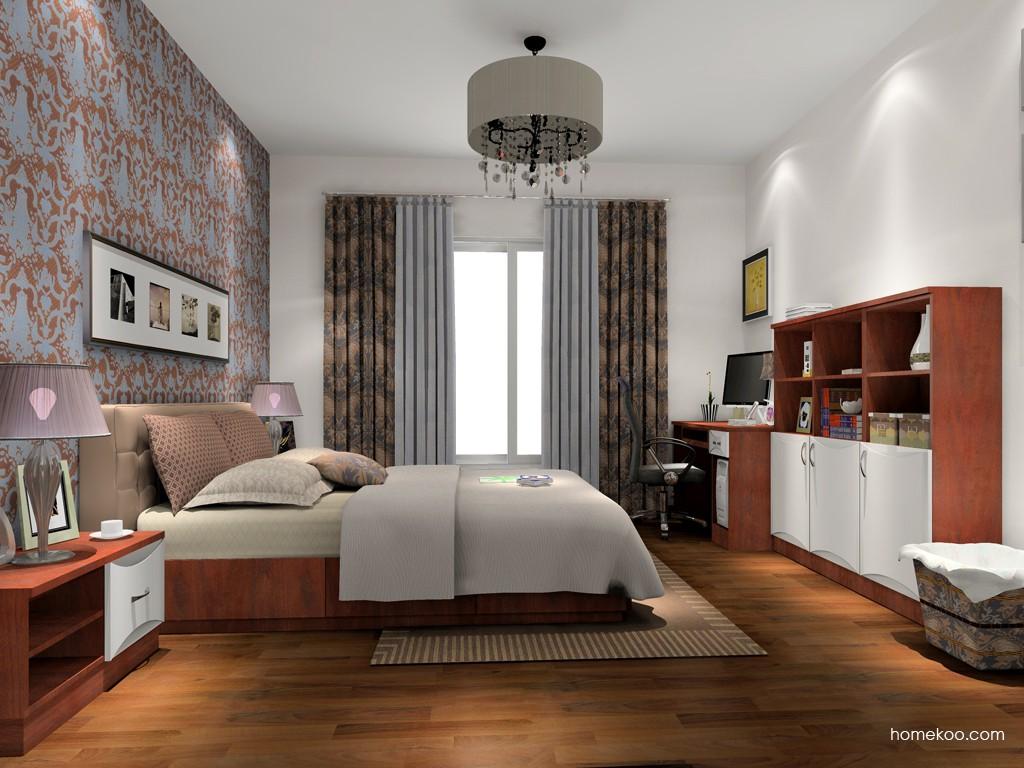 挪威月色卧房家具A15399