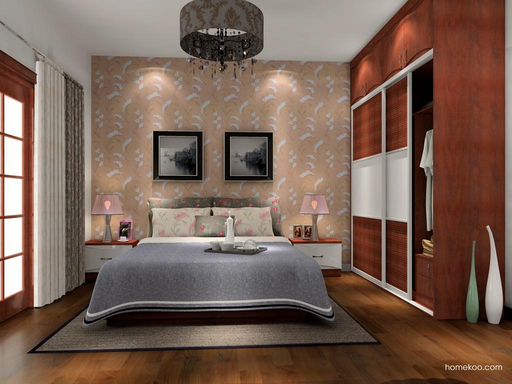 挪威月色卧房家具A15400