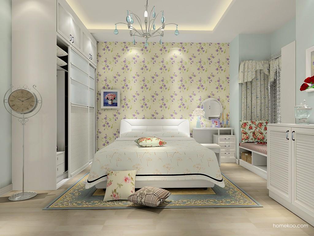 韩式田园卧房家具A15404