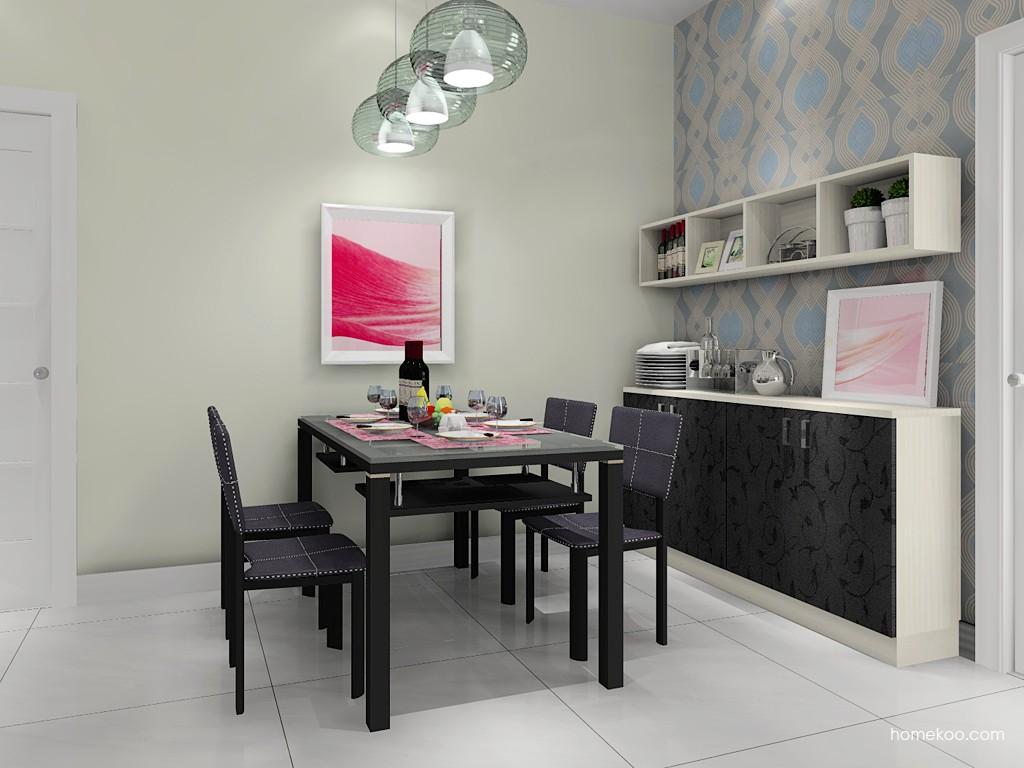 米兰剪影餐厅家具E11305