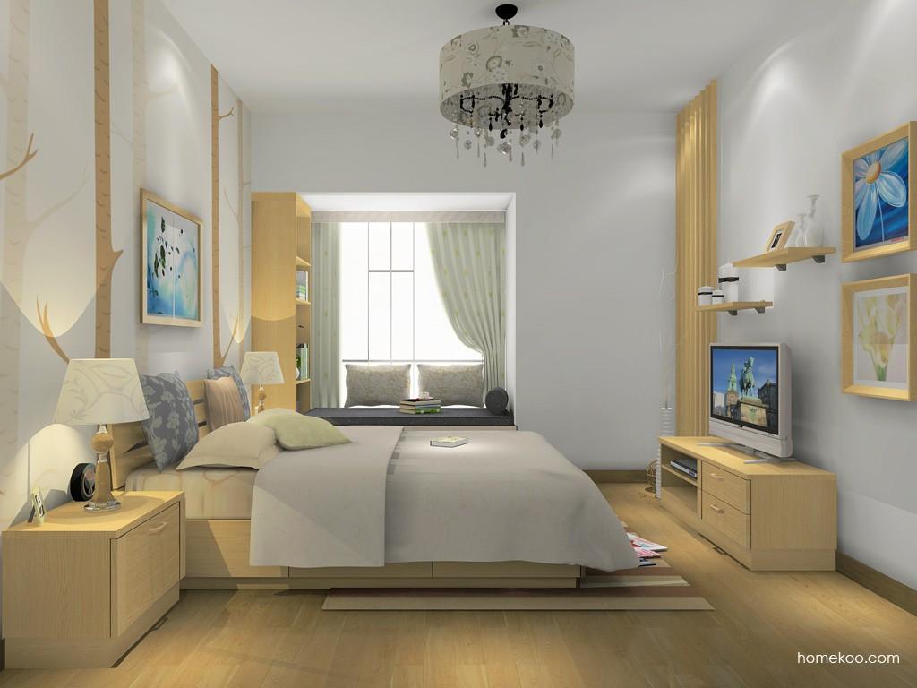 丹麦本色卧房家具A15422