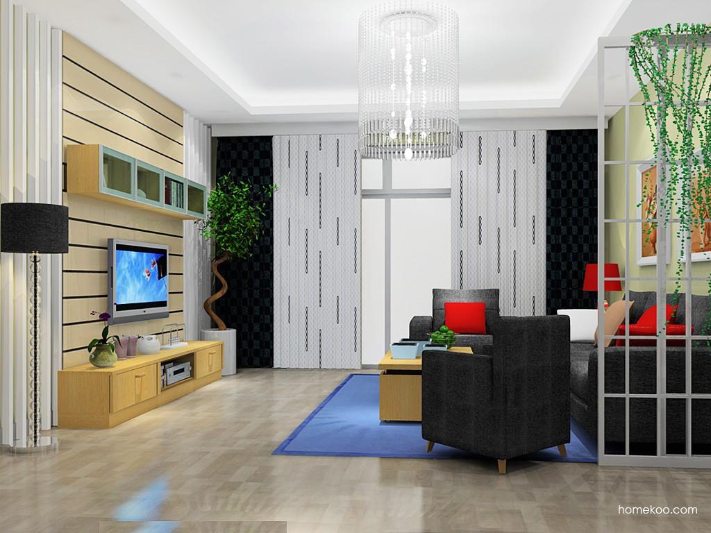 丹麦本色客厅家具D14336
