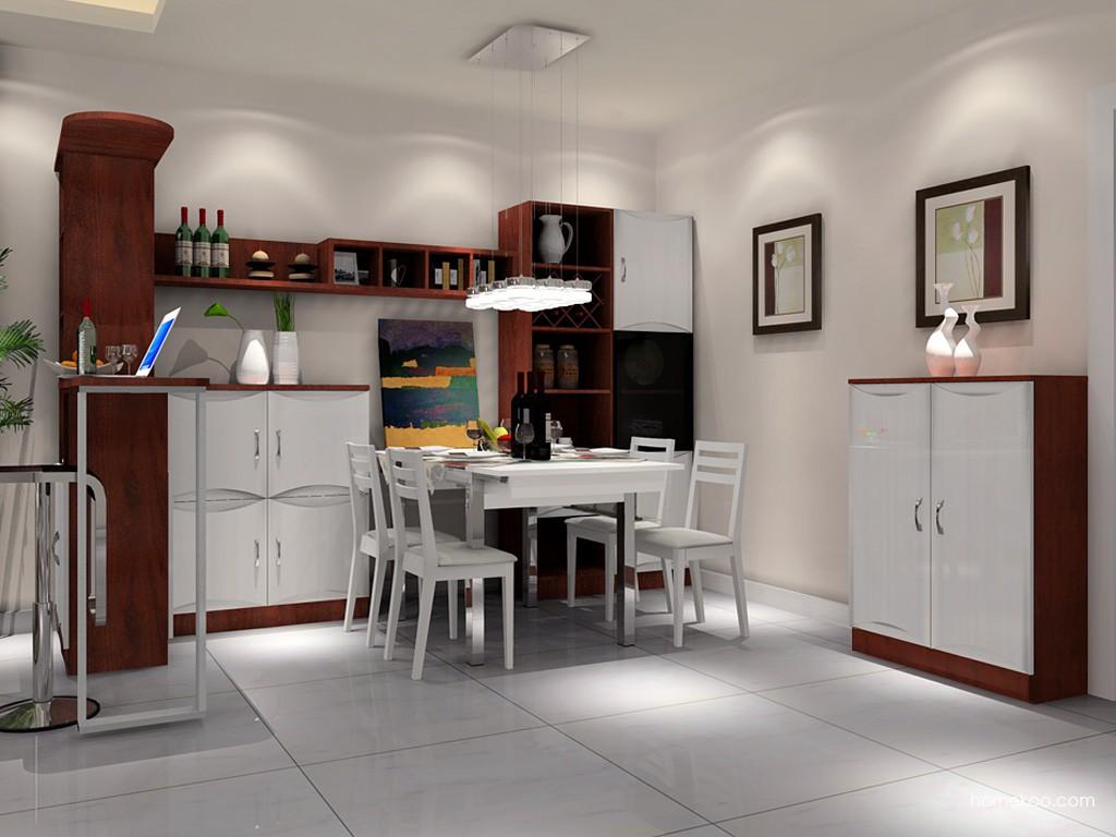 挪威月色餐厅家具E11311