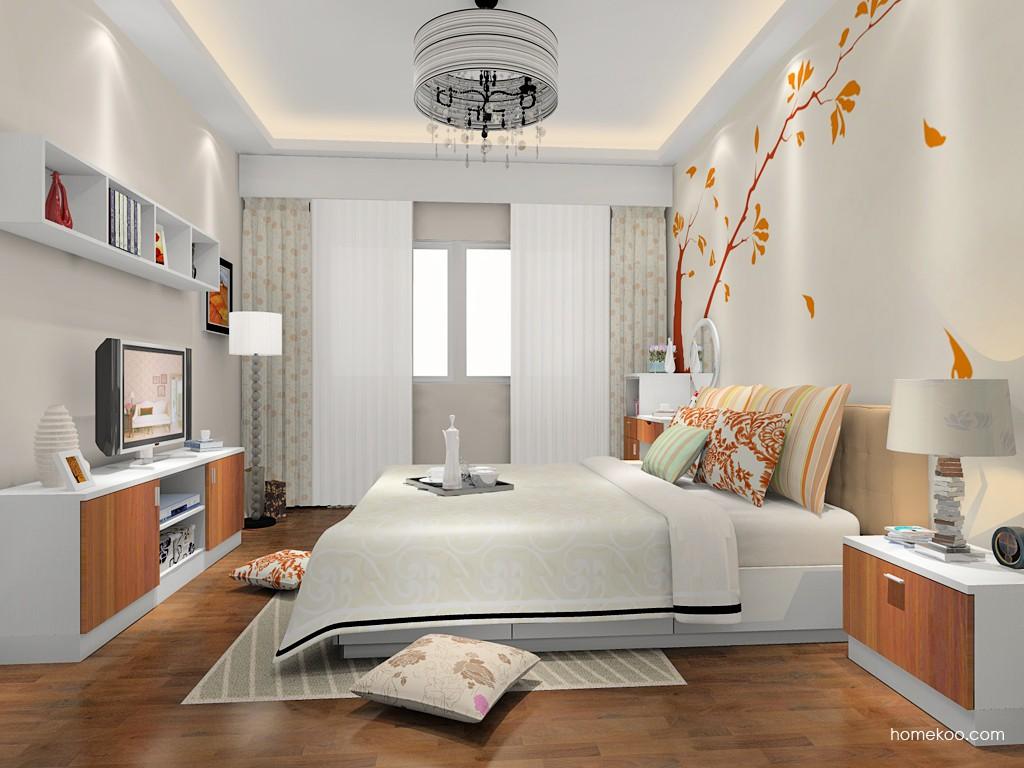 新实用主义卧房家具A15439