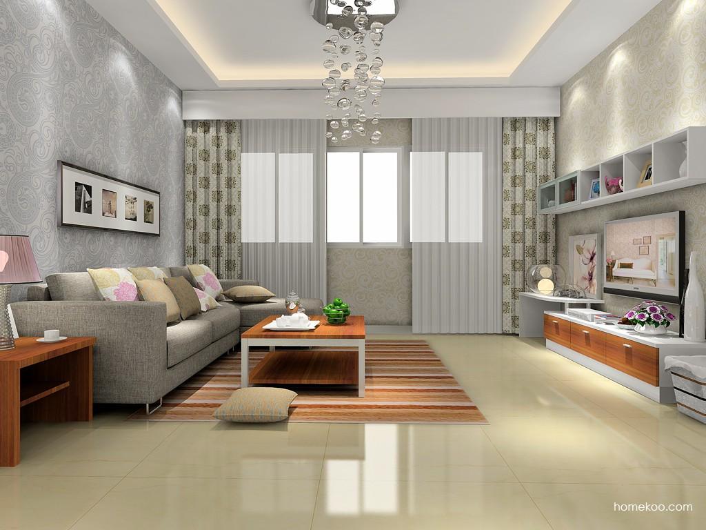 新实用主义客厅家具D14345