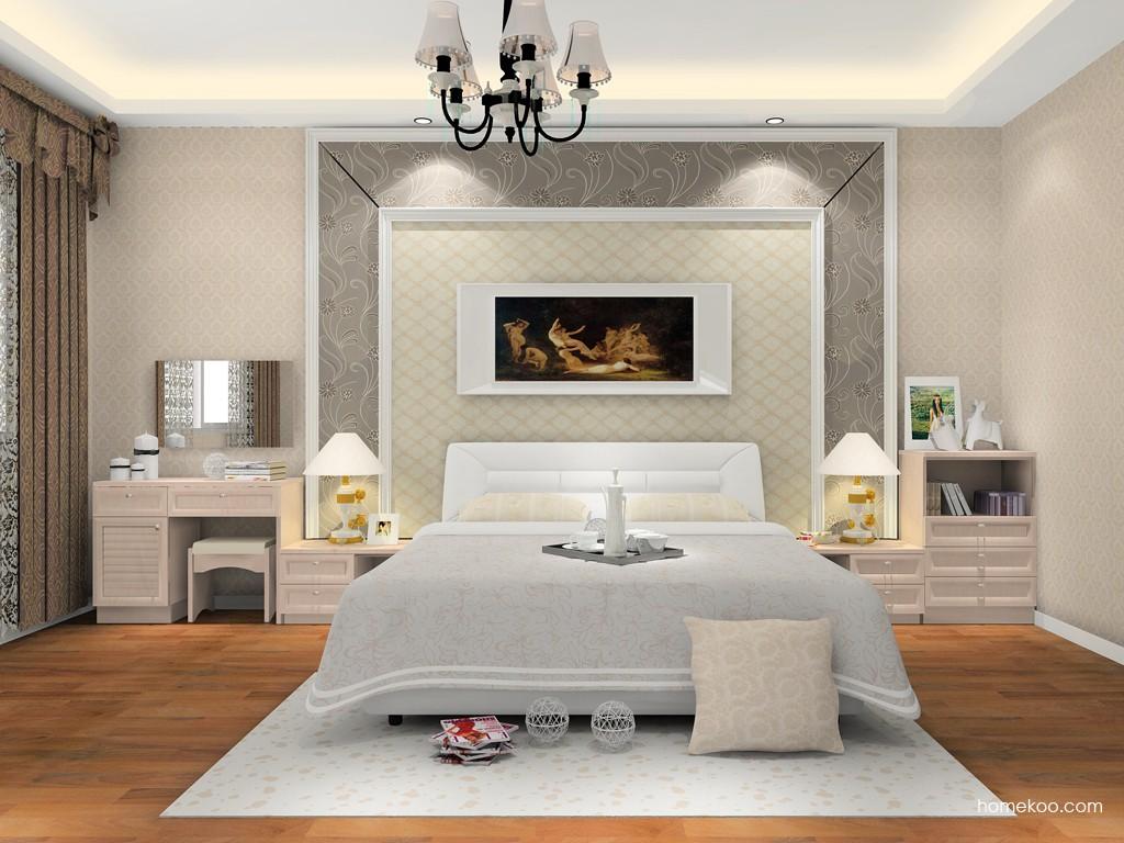 北欧阳光卧房家具A15450