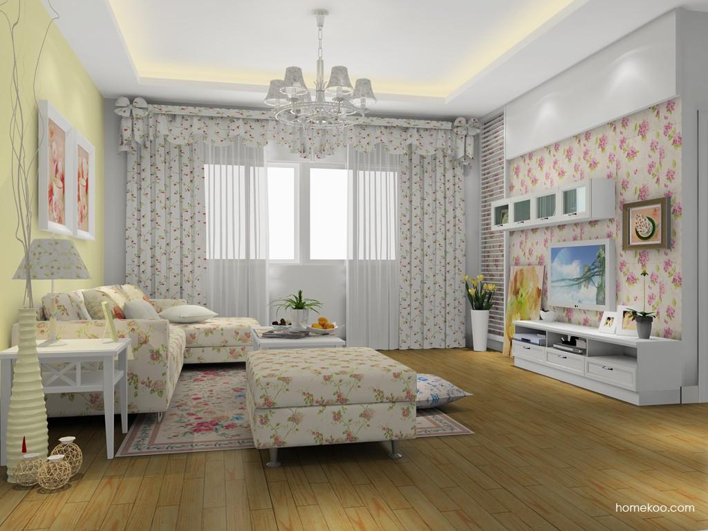 韩式田园客厅家具D14348