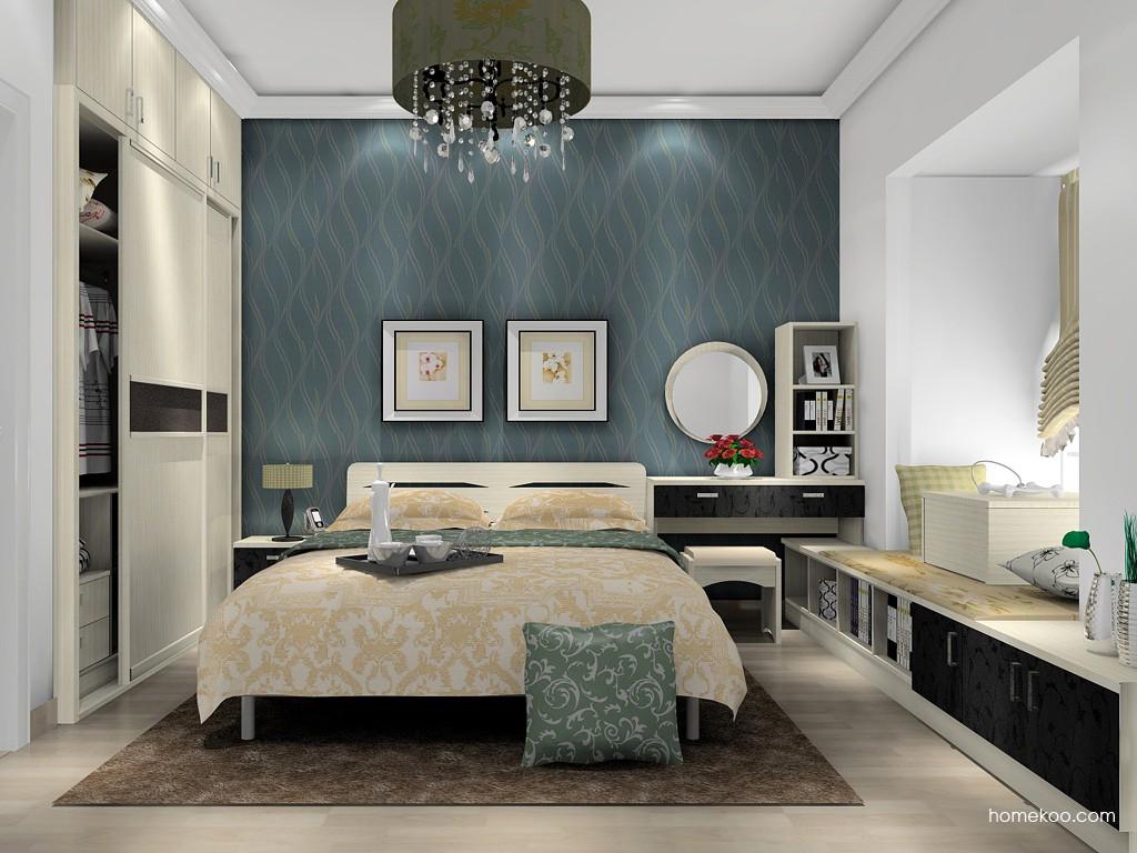 米兰剪影卧房家具A15452