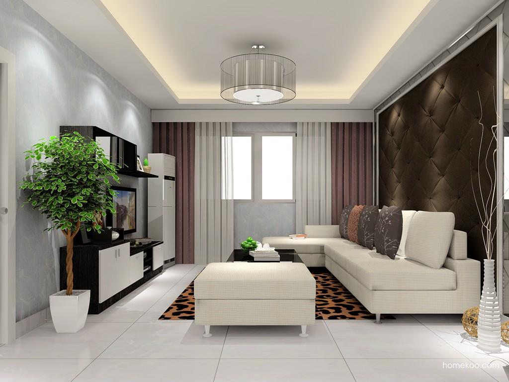 简约主义客厅家具D14353