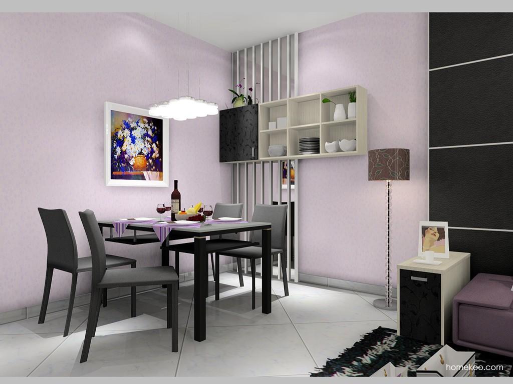 米兰剪影餐厅家具E11329