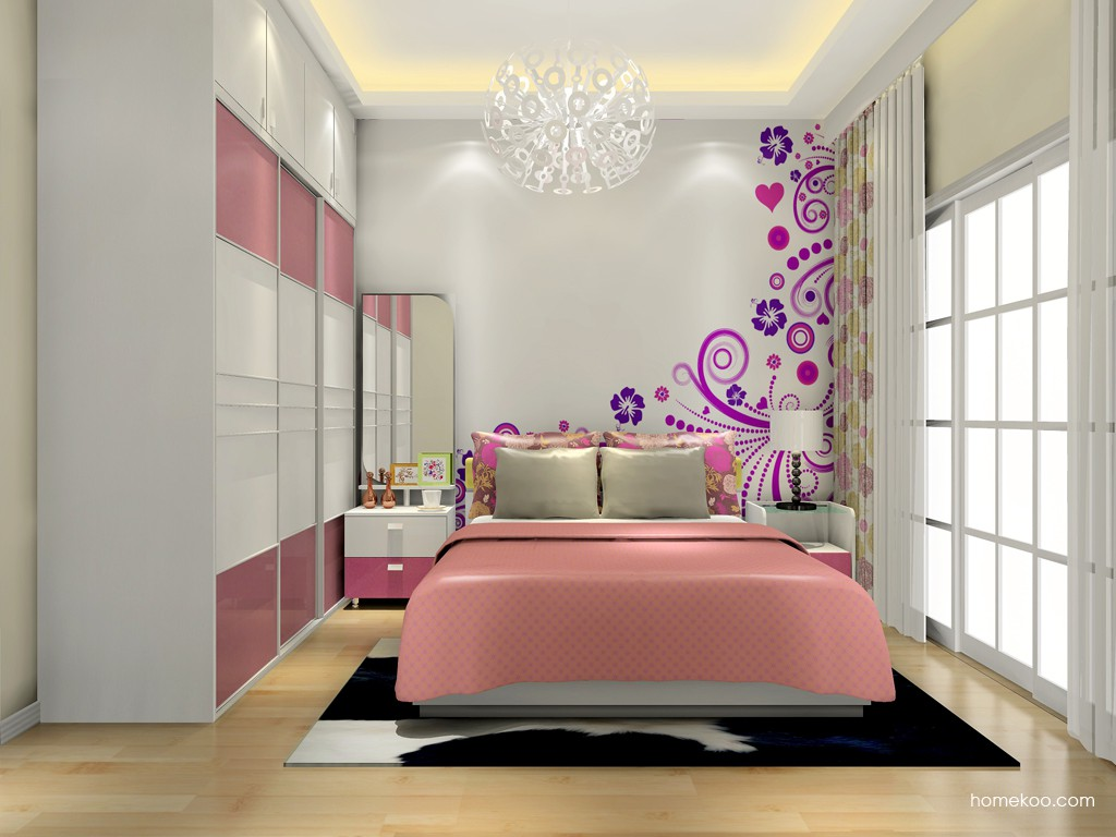 浪漫主义卧房家具A15466