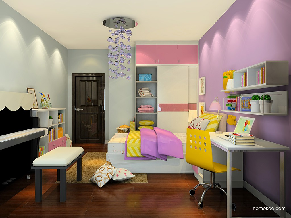 女孩的梦青少年房B15387
