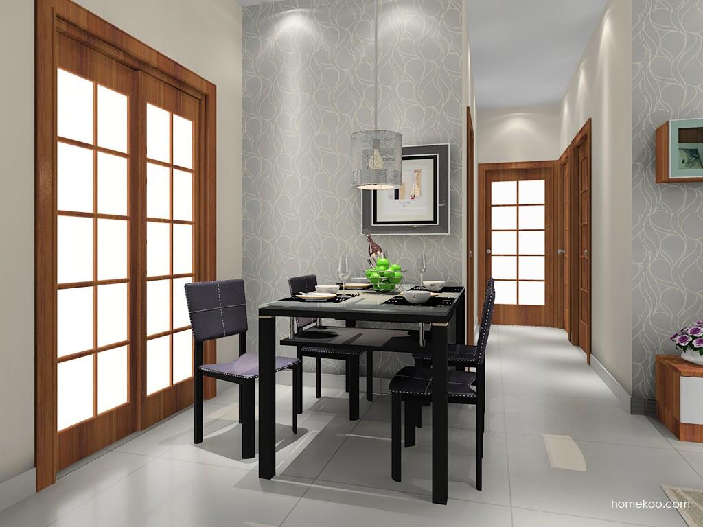 新实用主义餐厅家具E11336