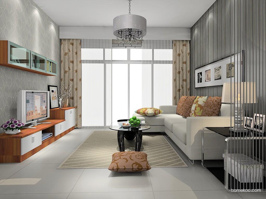 新实用主义客厅家具D14363
