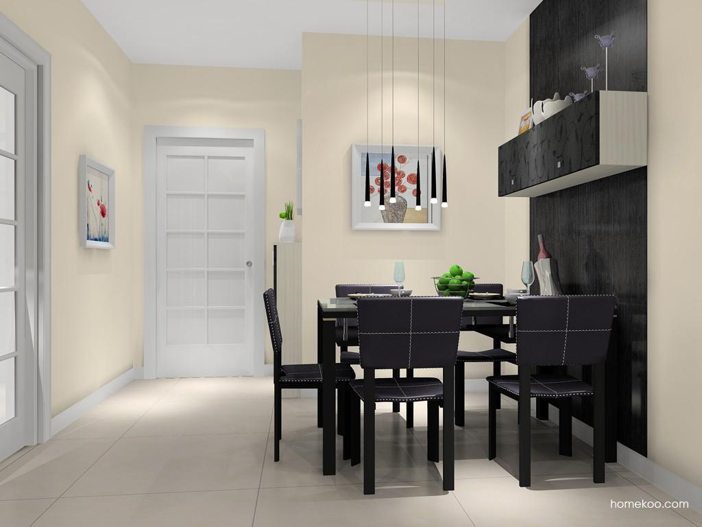 米兰剪影餐厅家具E11344