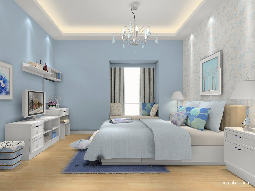 韩式田园卧房家具A15484