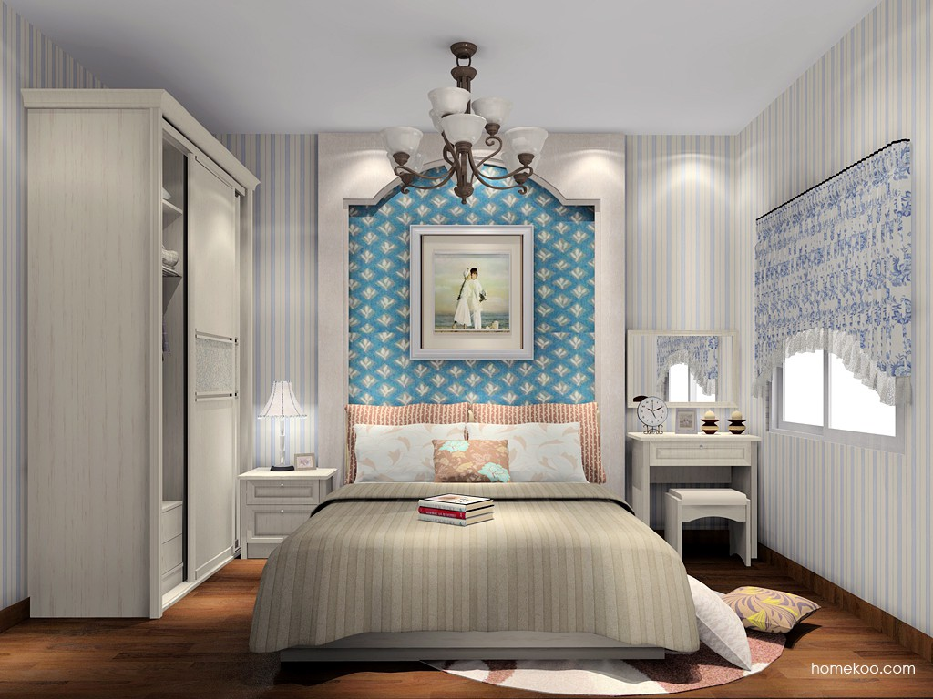 英伦印象卧房家具A15489