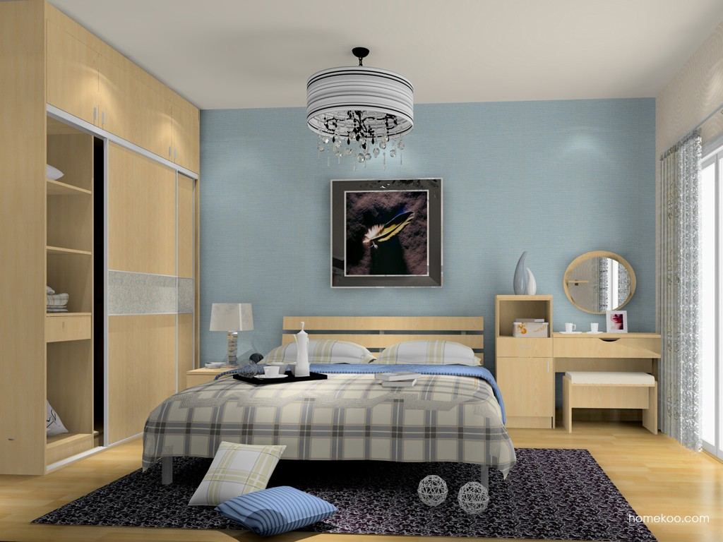 新实用主义卧房家具A15492