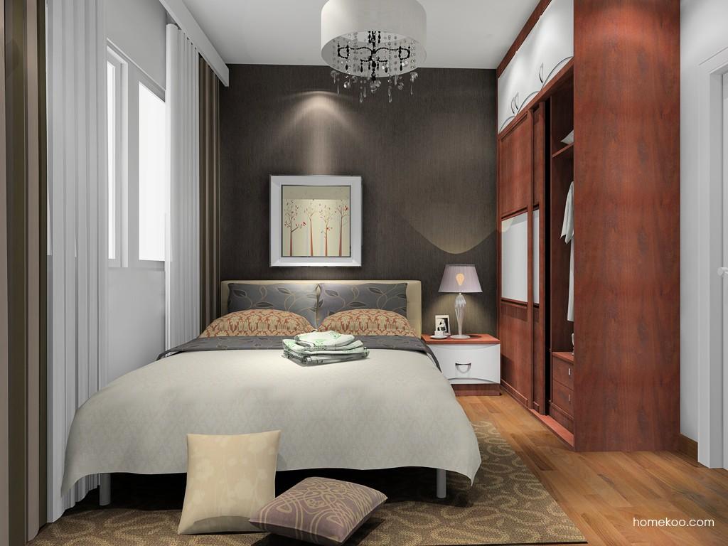 挪威月色卧房家具A15498
