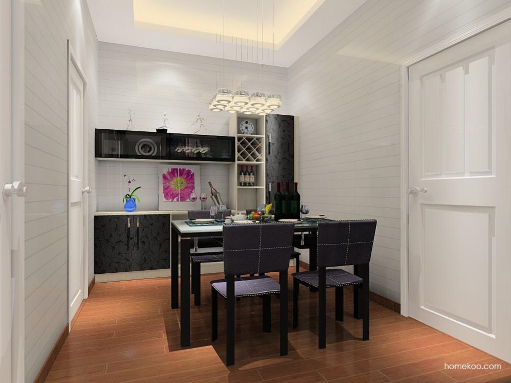 米兰剪影餐厅家具E11353