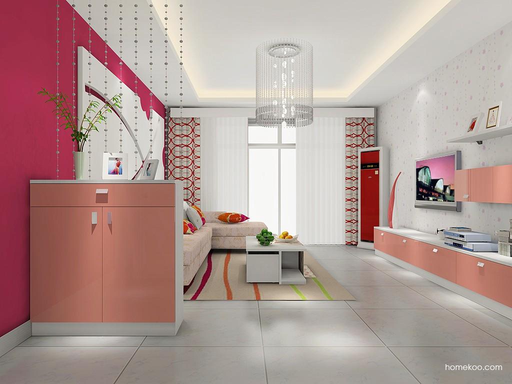 浪漫主义客厅家具D14398