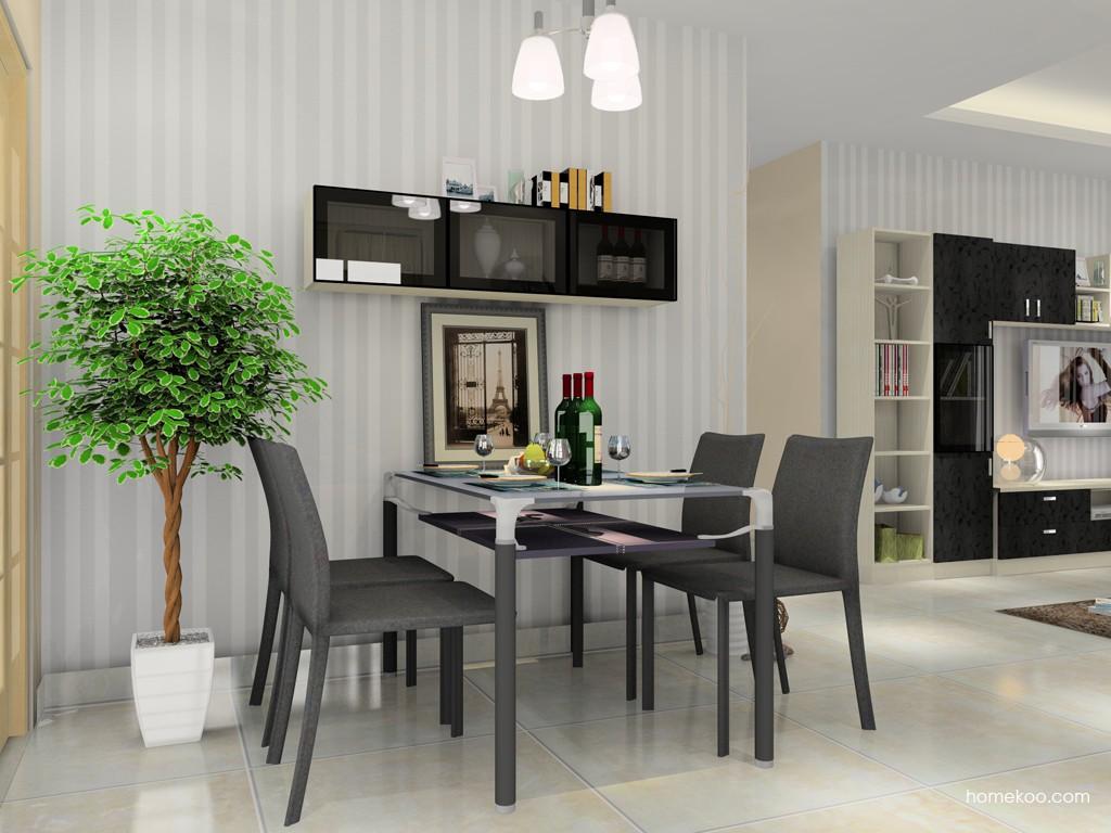 米兰剪影餐厅家具E11357