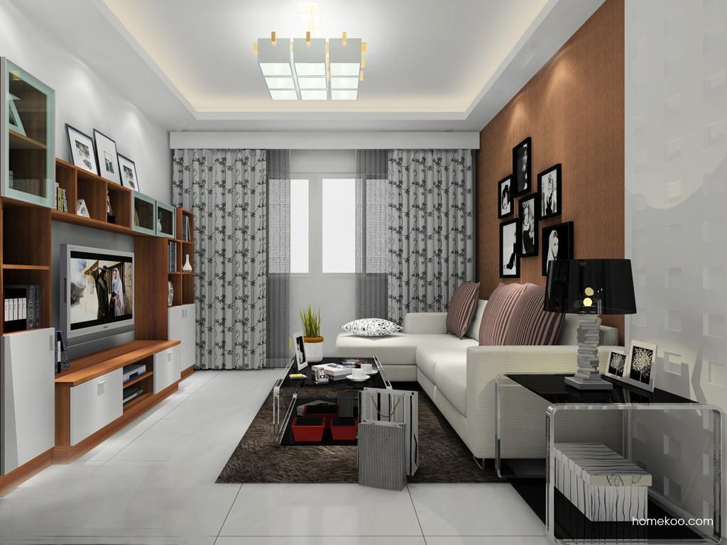 新实用主义客厅家具D14391