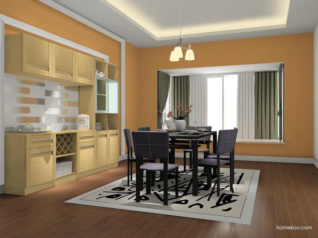 丹麦本色餐厅家具E11363