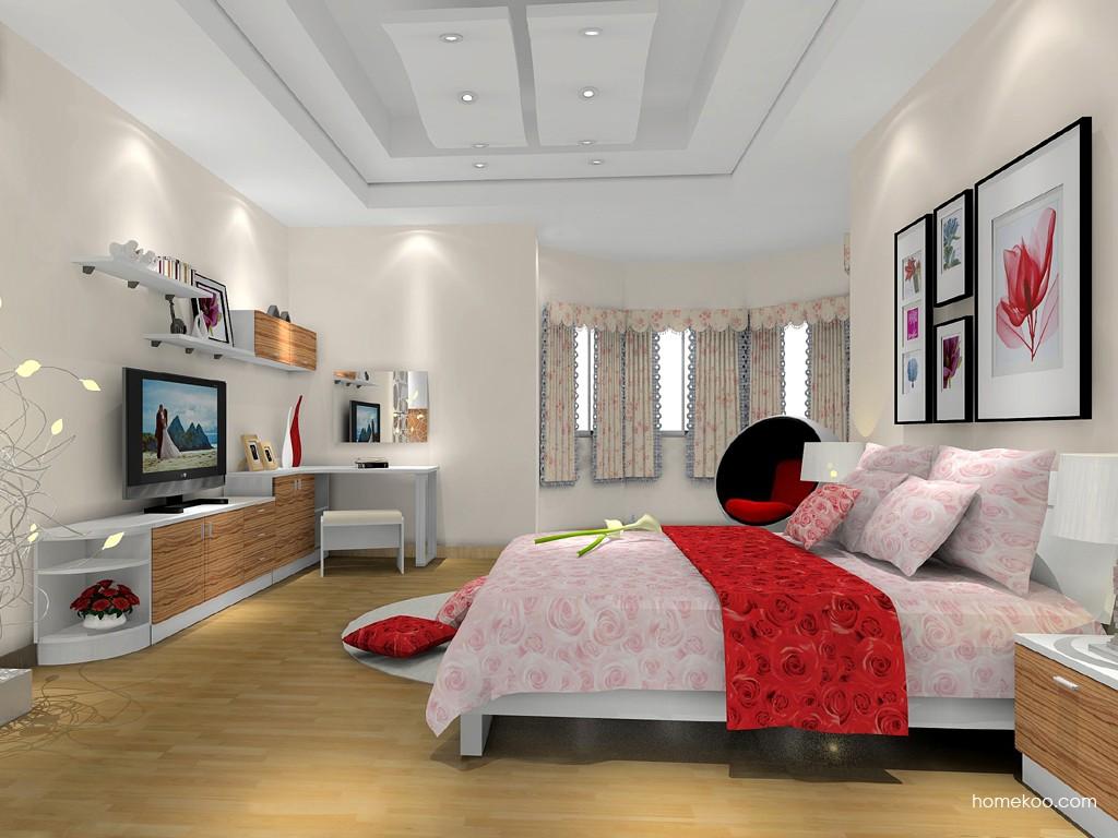 新实用主义卧房家具A15520
