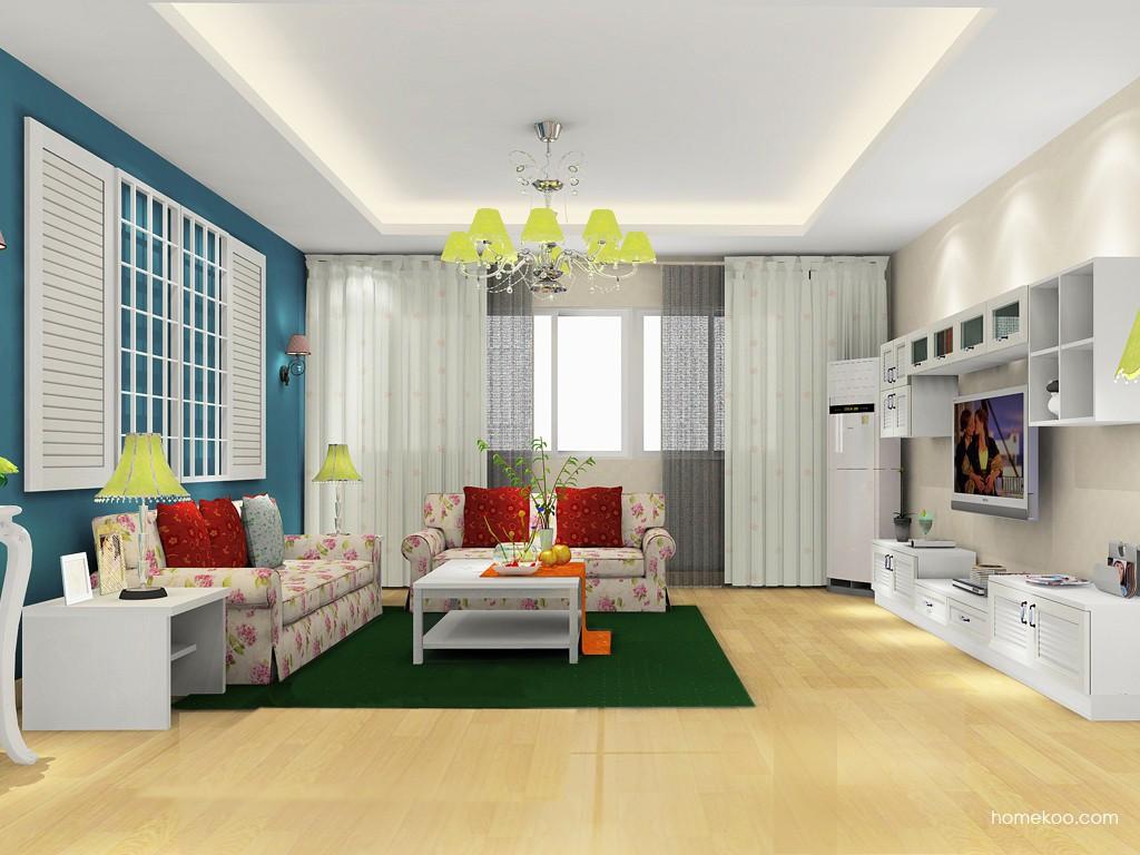 韩式田园客厅家具D14401