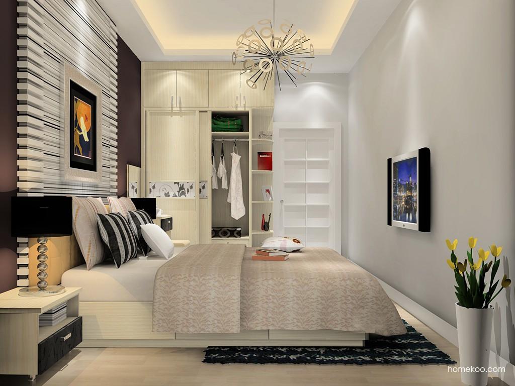 米兰剪影卧房家具A15546