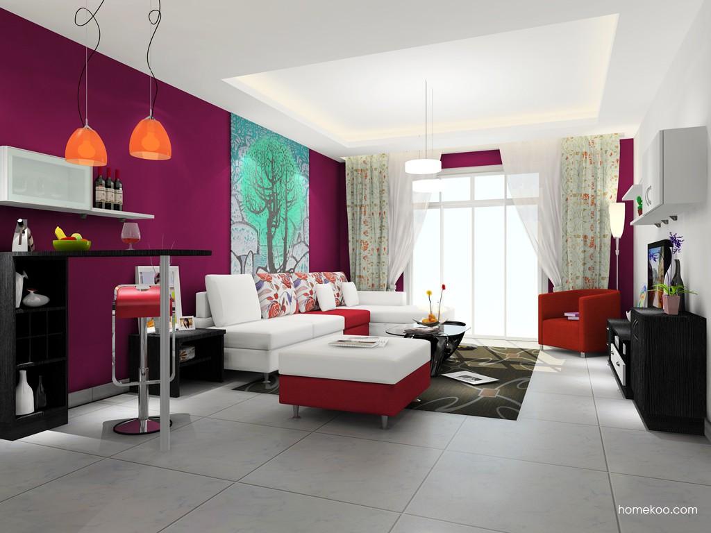 新实用主义客厅家具D15351
