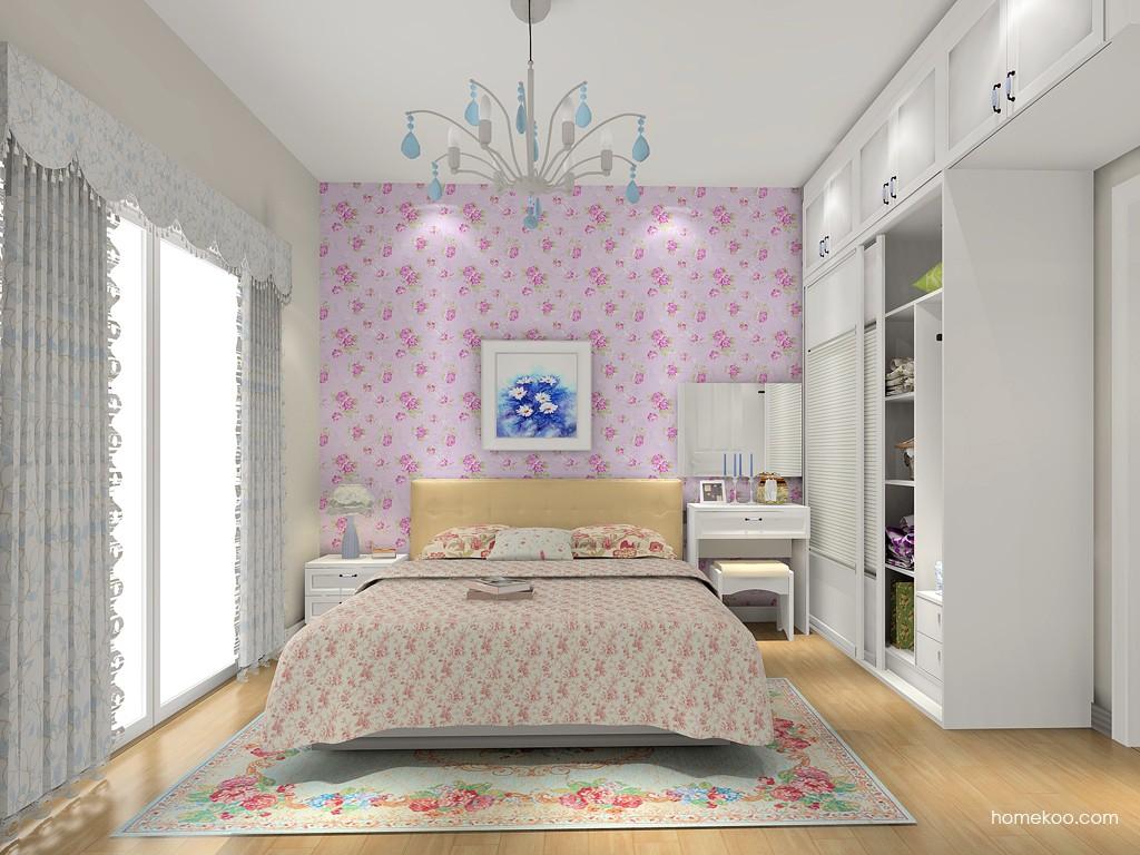 韩式田园卧房家具A15556