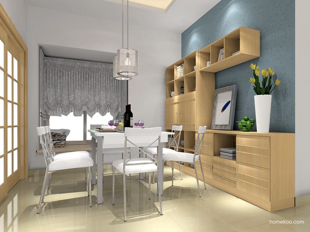 北美枫情餐厅家具E11395