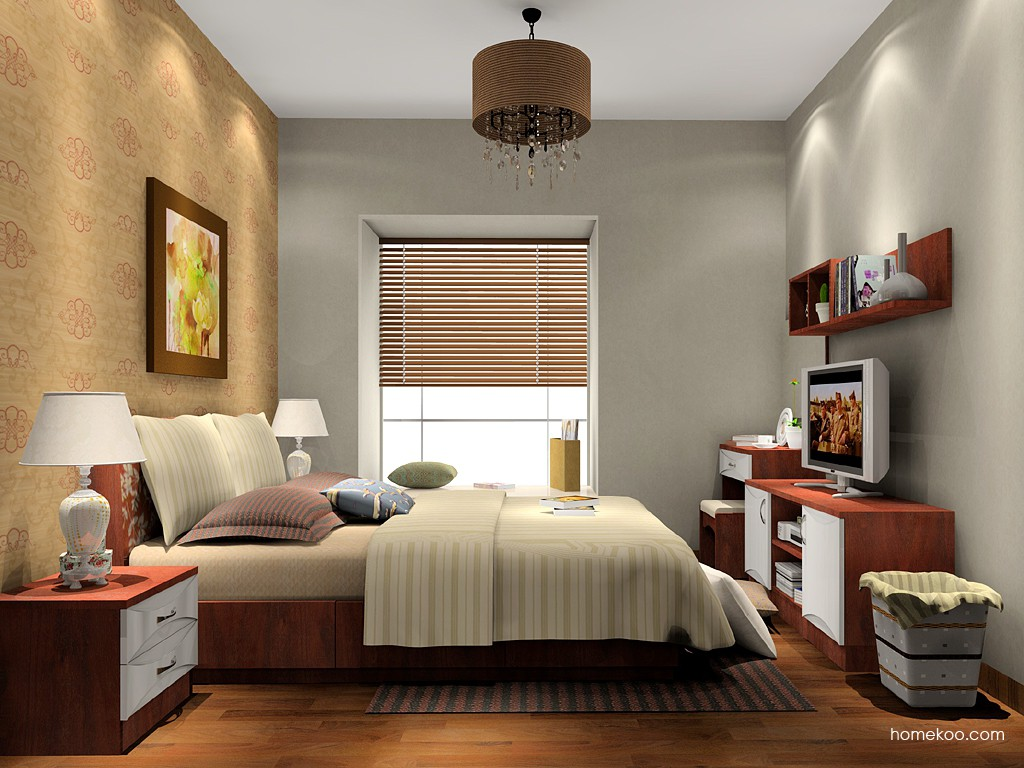 挪威月色卧房家具A15596