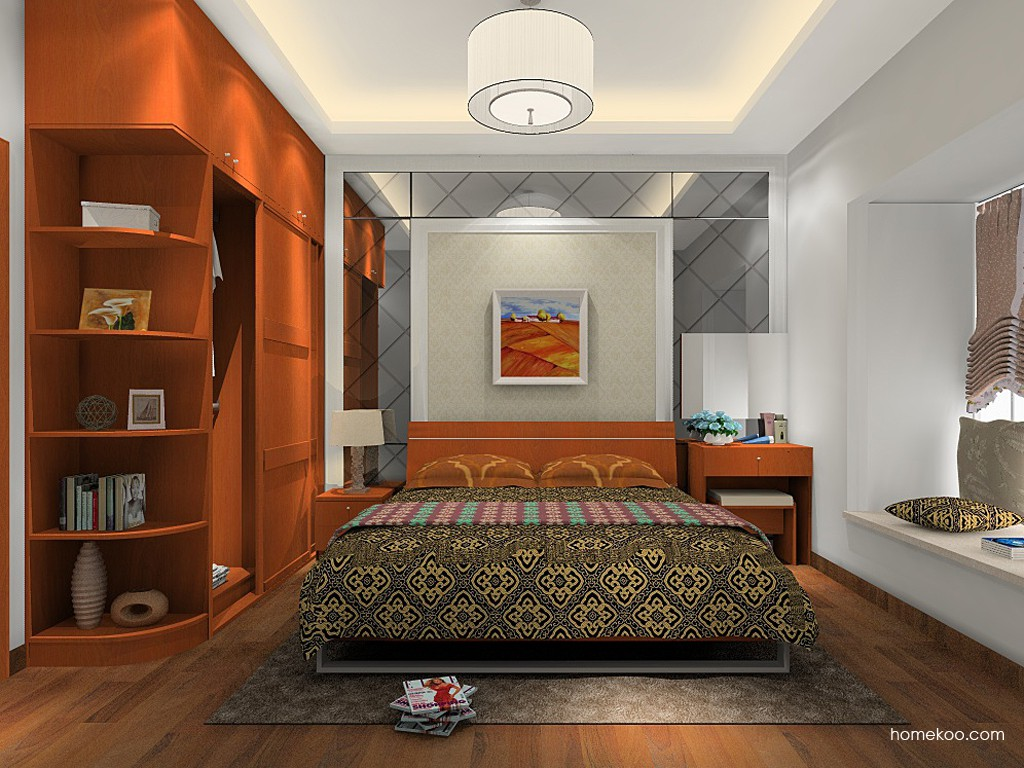加州梦卧房家具A15616
