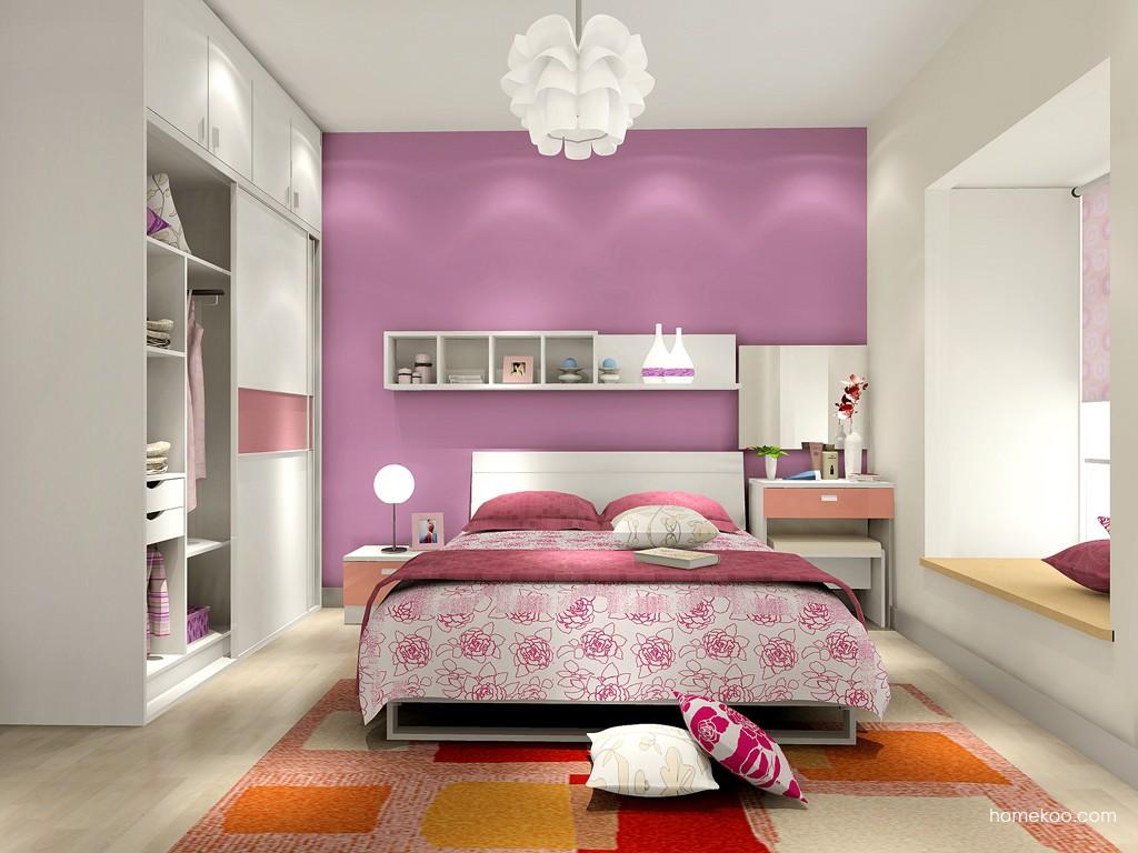 浪漫主义卧房家具A15629