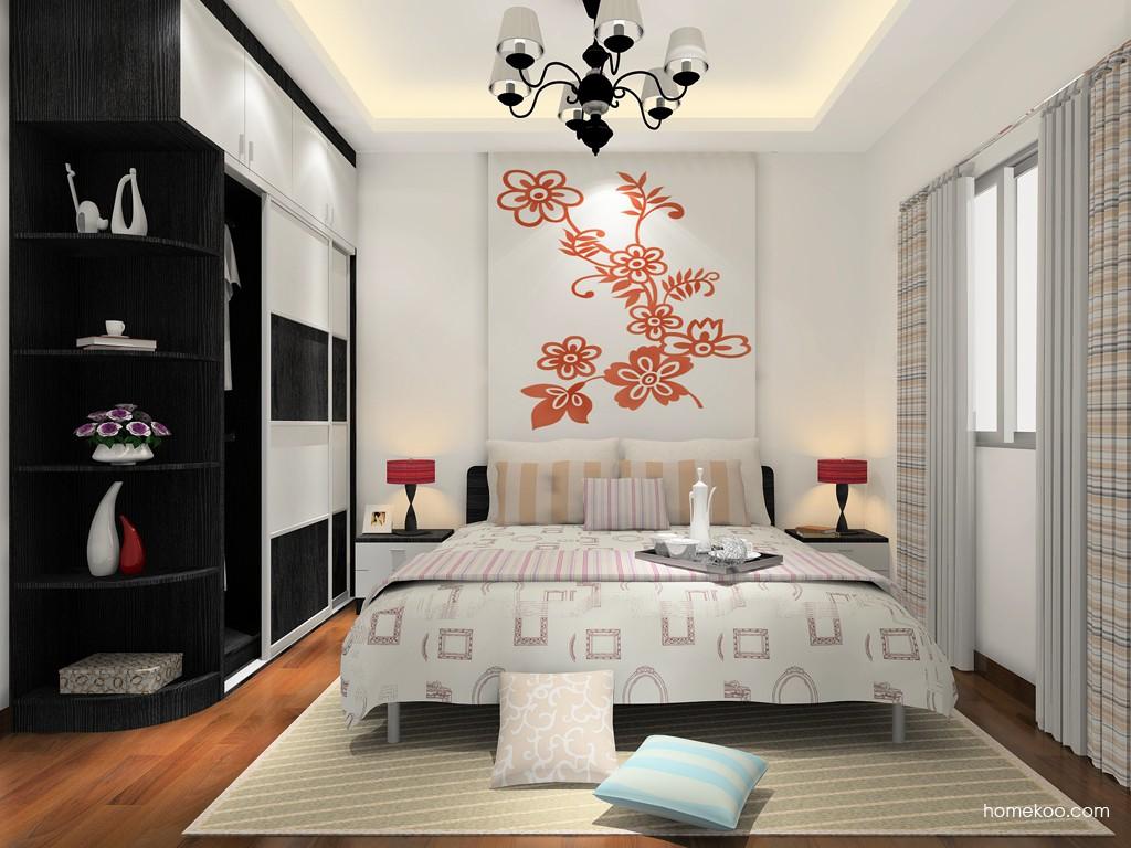 简约主义卧房家具A15642