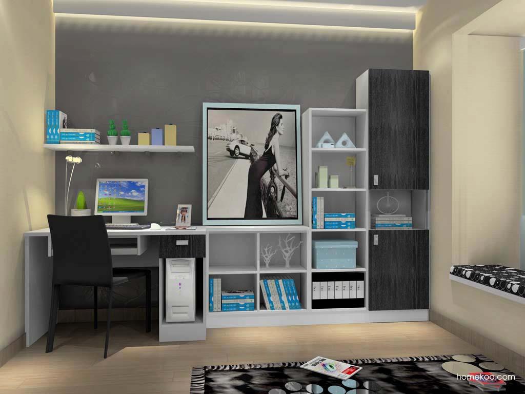 简约主义书房家具C15277